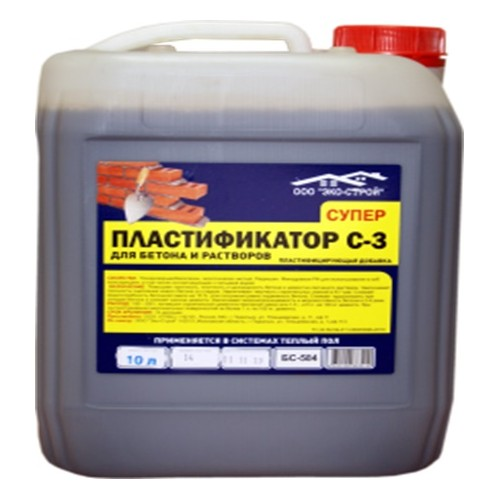 """Суперпластификатор """"С-3"""" БС-584 (10л)"""