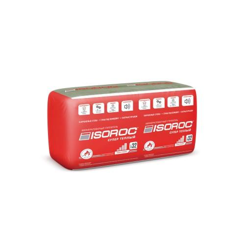 ISOROC Супер Теплый 50/610x1000/Е/К (6,1м2/100мм)