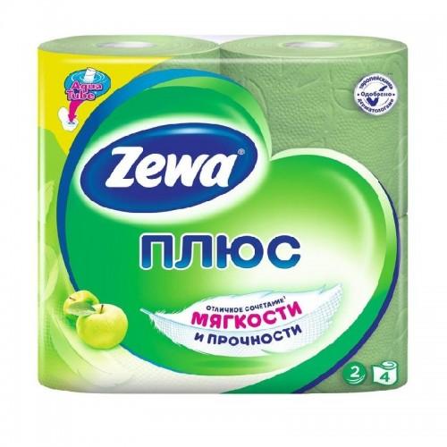 Бумага туалетная 2-х слойная (4 рул.) (в ассортименте)