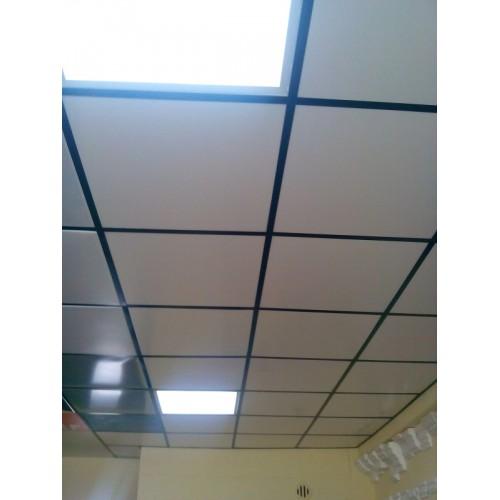 Металлические потолочные панели SM AST 0,7 mm (595x595)