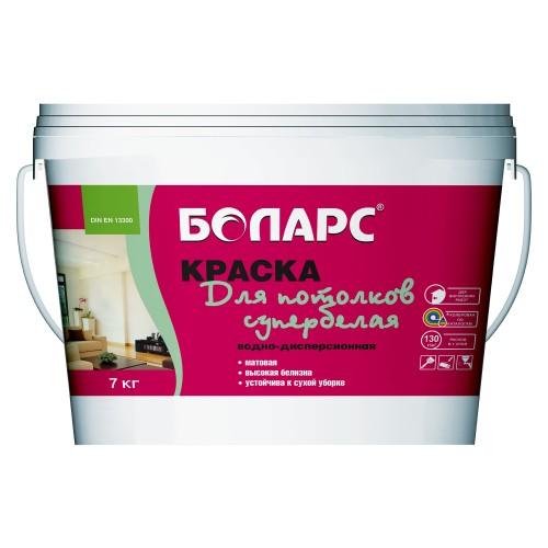 Краска в/д для потолков супербелая 15 кг(вед.)