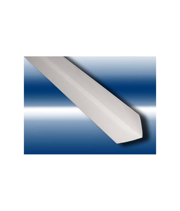 Уголок ПВХ 20х20мм белый 2.74м