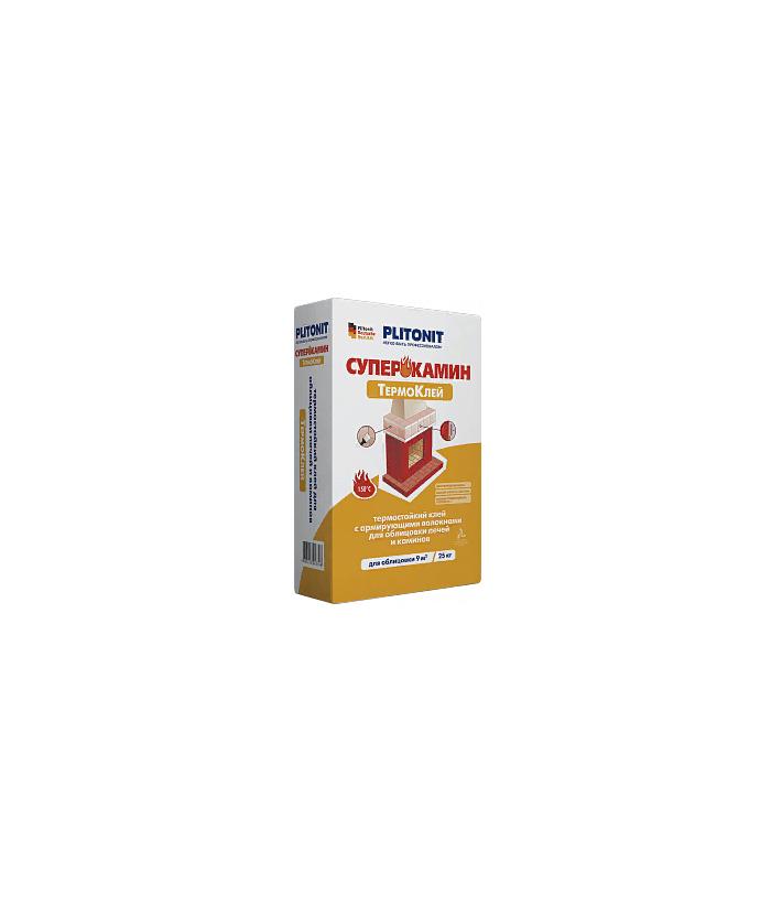 PLITONIT СуперКамин ТермоКлей -25 для облицовки печей и каминов
