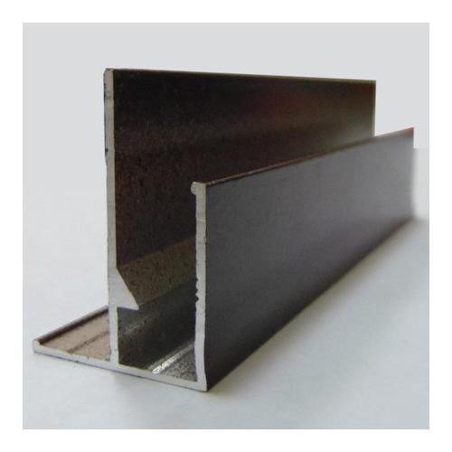 F профиль алюминиевый внешний угол 3 м неокрашенный, шт