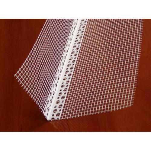 Уголок ПВХ 100х150мм для фасадных работ с сеткой 2.5м