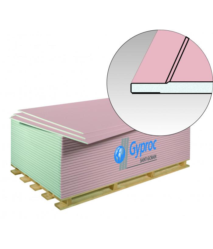 ГКЛВО GYPROC гипсокартон огневлагостойкий  (1200х3000) 12.5мм