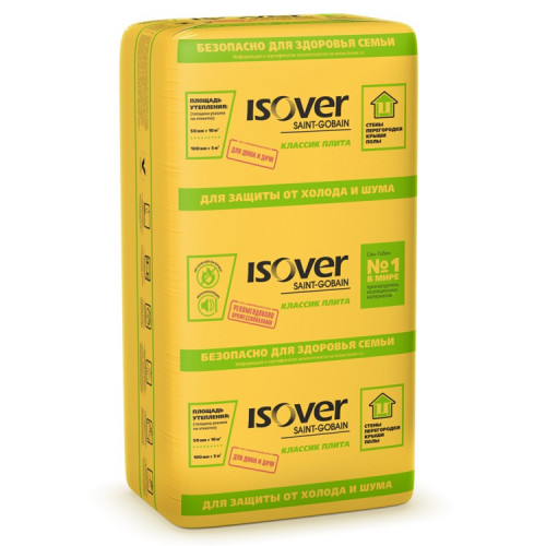 Isover Классик плита 1170х610х50 мм 14 штук в упаковке