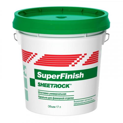 Шпатлевка готовая Sheetrock SuperFinish (28кг/17л)