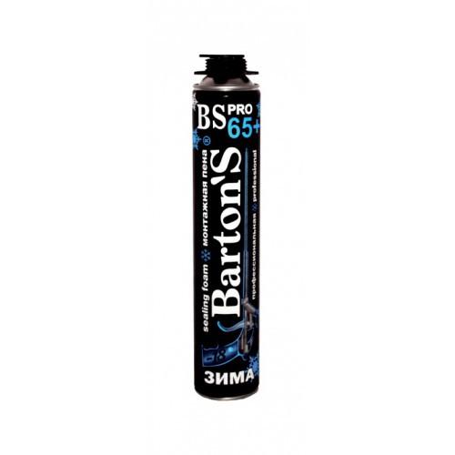 Пена Профессиональная Bartons BS PRO 65 + ЗИМНЯЯ 750/1000 мл