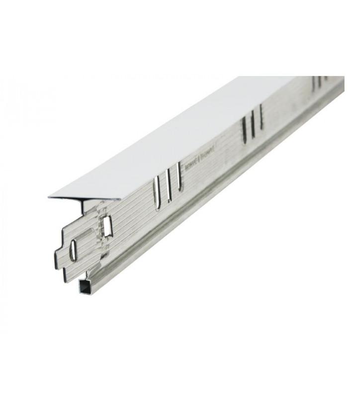 Т-профиль Металлист 24х26х1200 Премиум белый (60шт/уп)