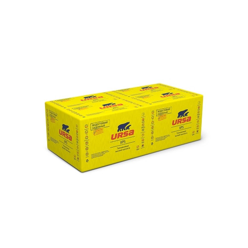 Пенополистирол URSA XPS N-III-G4-L 1250Х600Х50 ММ