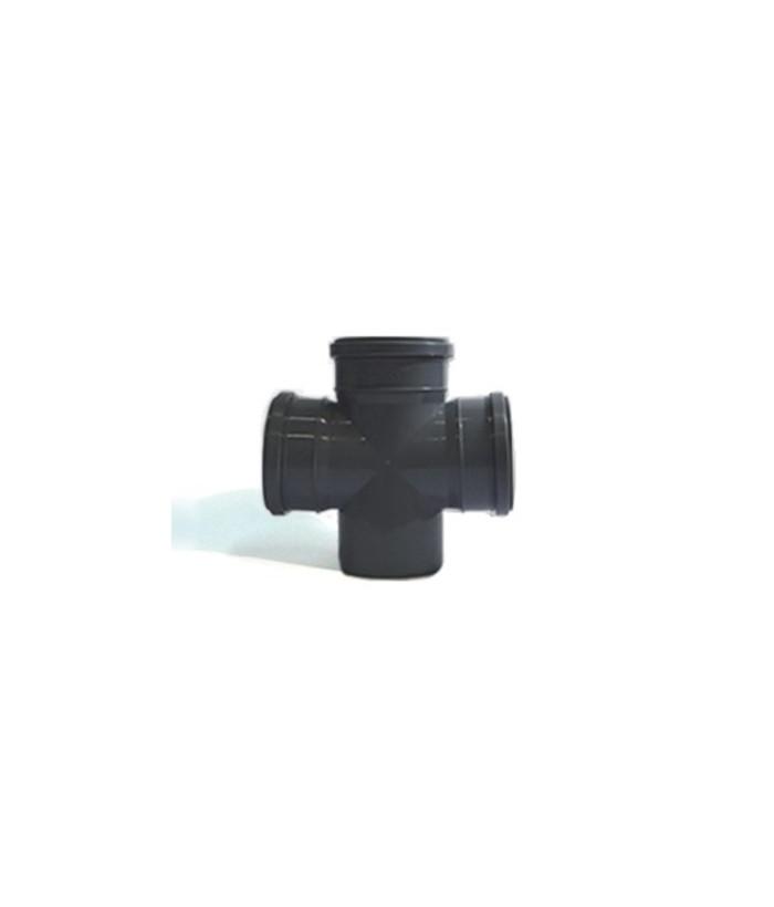 Крестовина одноплоскостная SK-Plast 90 градусов 110х110х110