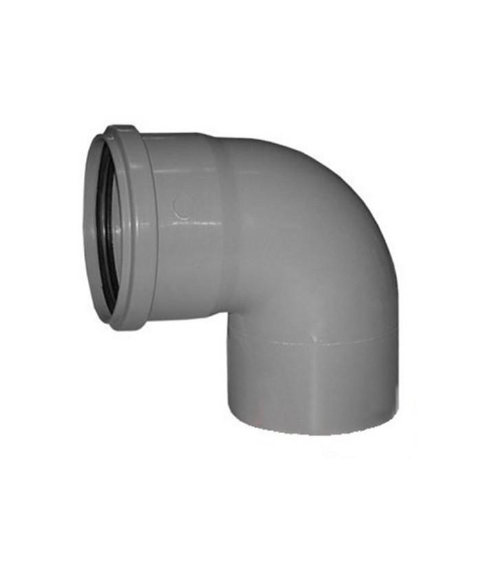 Отвод полипропиленовый SK-Plast 90 градусов D=110