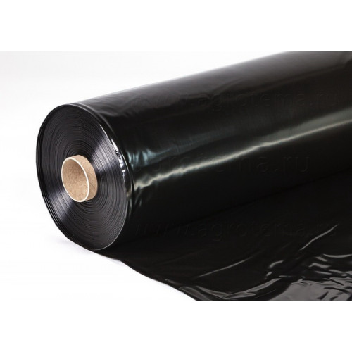 Рукав-пленка ПВД 1500 мм 100 мкм, 100 м, черная