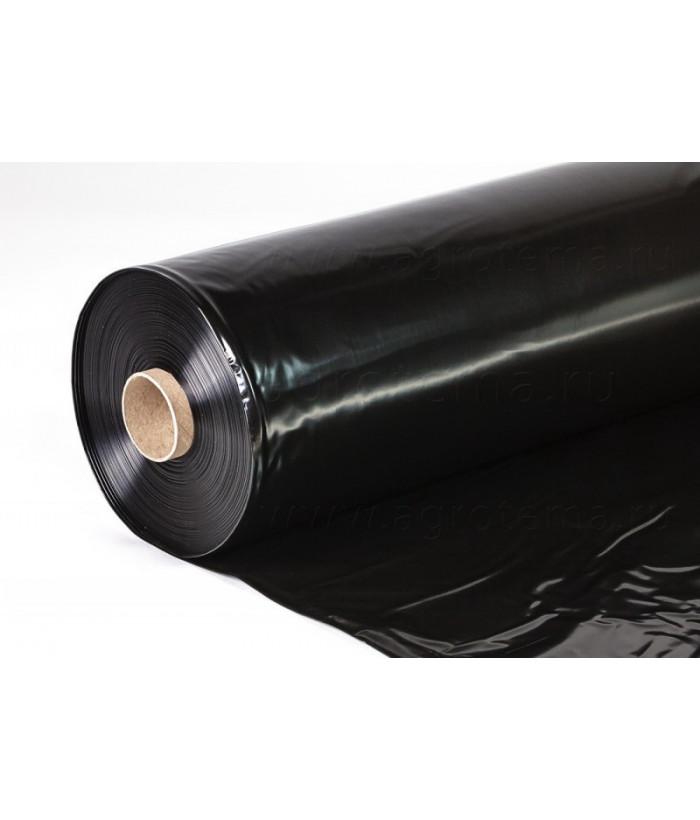 Рукав-пленка ПВД 1500 мм 120 мкм, 100 м, черная