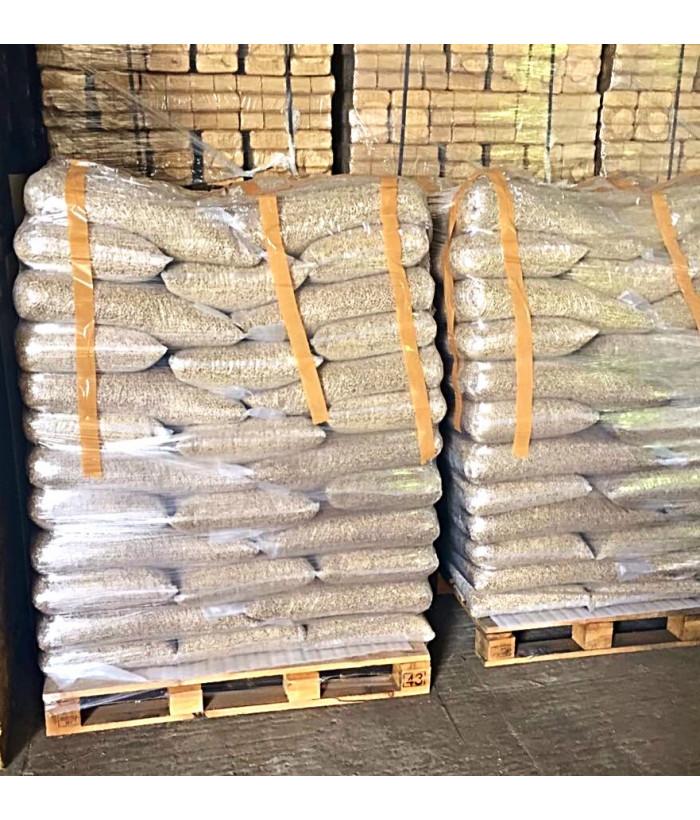 Пеллеты серые 6мм, 15 кг. (п/э мешок)
