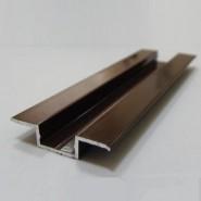 Декоративный алюминиевый  профиль для стеновых панелей INTERPAN